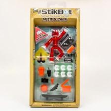 StikBot Action pack, Skate Röd