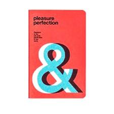 "Anteckningsbok ""Pleasure Perfection"" Mini med Linjerade Stenpapper Soft Cover"