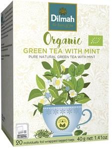 Dilmah Te Grönt Mint Tepåsar 20 st Ekologisk