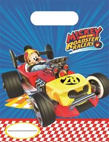 Musse Pigg Roadster Racers Godispåsar, 6 st