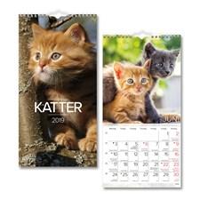 Väggkalender 2019 Burde Liten Kattkalender