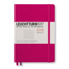 Academic Planner Weekly Notebook 2018-19 18-months A5 berry