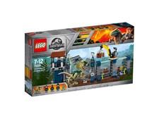 Dilophosaurus stationsattack, LEGO Jurassic World (75931)