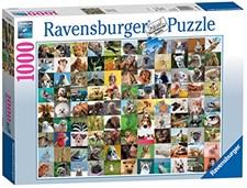 99 Funny Animals, Puslespill, 1000 brikker, Ravensburger