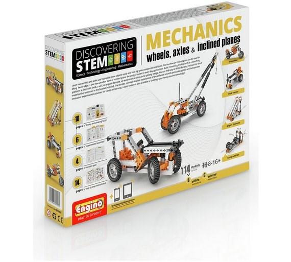 Engino Byggklossar Mechanics  Wheels  Axles & Inclined Planes
