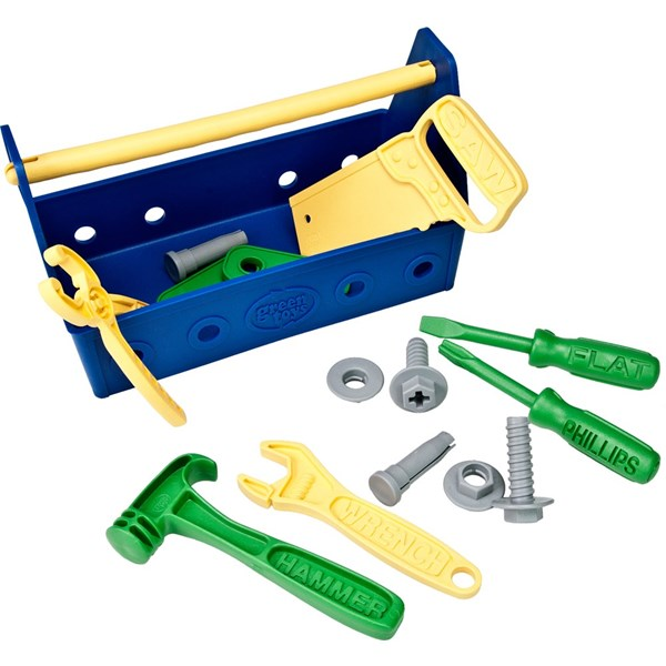 Verktygslåda  Blå  grön Toys - leksaksbilar & fordon