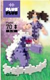 MINI Pastel 70 Unicorn, Plus Plus