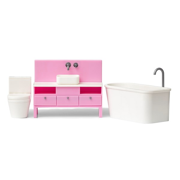 Kylpyhuonekalusteet, Lundby