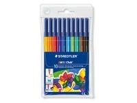 Fiberpennor 1 mm 10 Färger