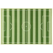 Matta Fotbollsplan 190 x 133 cm Grön