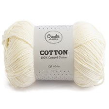 Adlibris Cotton 8/9 Garn 100g Off White A074