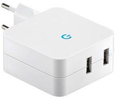 USB lader 4,1A Dobbel