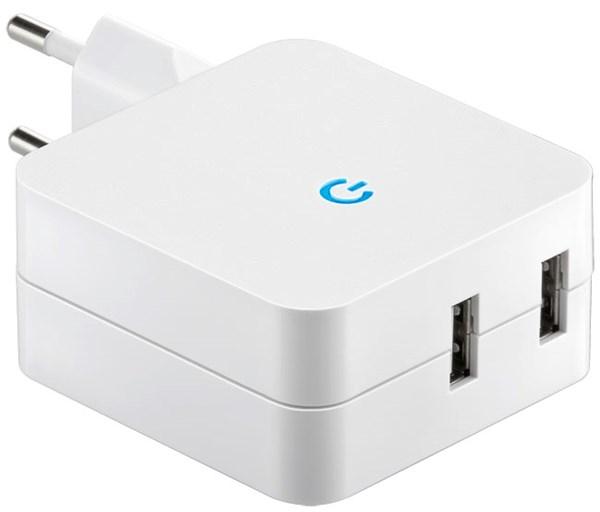 Dubbel USB Laddare 4.1 A