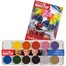 Aqua make-up palett m 12 st
