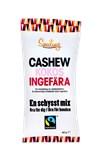 Smiling Cashew Kokos Ingefära, 50 g