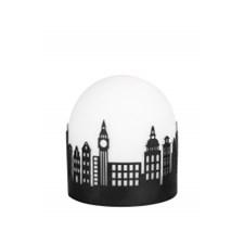 Globen Lighting Smallville Bordslampa B13D13H14,5 1xE14 25 Svart / Vit