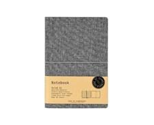 EOS Notebook A5 linjerad, Grå