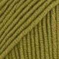 Drops Merino Extra Fine Uni Colour Garn Merinoull 50g Olivgrön (18)