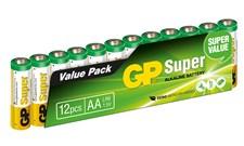 Batteri Alkalisk AA 1,5 V 12 st
