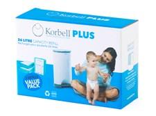 Refill 3-pack, Korbell Plus