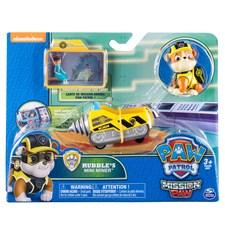 Rubble's Mini Miner, Minifordon med figur, Mission Paw, Paw Patrol