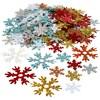Julpaljetter, 25+45 mm, 250 g, mixade färger