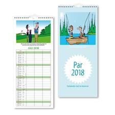Väggkalender 2018 Burde Parkalendern