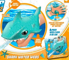 Water Webs, Shark, Blue, Eolo Sport