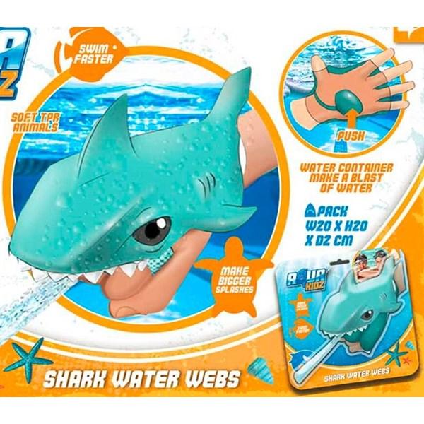 Water Webs  Shark  blå  Eolo Sport - uteleksaker & sportleksaker