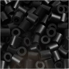 PhotoPearls, str. 5x5 mm, hullstr. 2,5 mm, 6000 stk., black