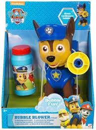 Chase Bubble Machine, Paw Patrol