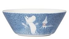 Skål, Mummi, Lett snøfall, 15 cm, Porselen, Arabia