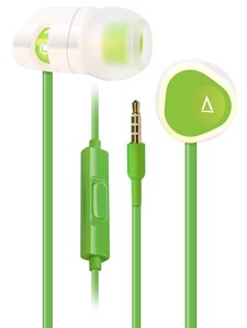 Hörlurar Creative MA200 Earphone with Mic Green