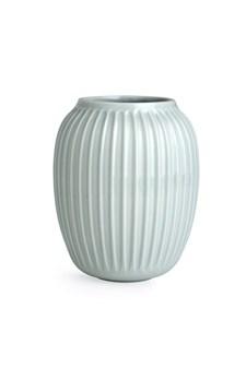 Vase, Hammershöi, H 20 cm, Mint, Kähler