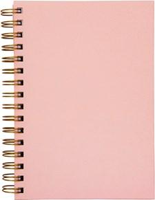 Muistikirja Burde A5 Vaaleanpunainen