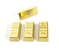 Magneetti kultaharkko