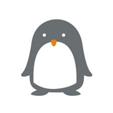 Applikasjon Pingvin Stor 7.8/8.9 cm