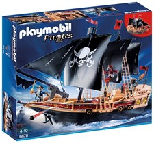 Piratskepp, Playmobil Pirates (6678)