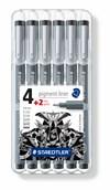 Tuschpenna STAEDTLER pigmentliner 6/FP