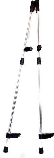 Styltor i Aluminium, 128-145 cm