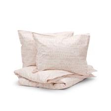 Sköna Hem Brush Bristle Påslakanset Tvättad bomullspercale 240x220 cm Pink