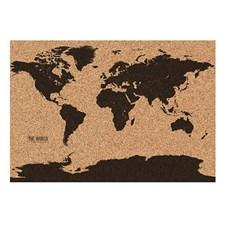 Världskarta I Kork