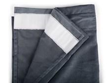 Form Living Gardin Velvet med veckband Polyester 300x140cm Antracit