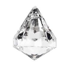 Prisma Diamantslipad 25x22 mm Blank Transparent 50 st
