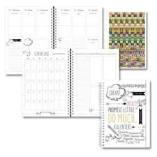 Kalenteri 18/19 Burde Scribble A5, FSC Mix
