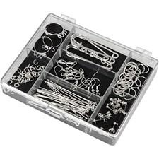 Set Smyckedelar Silverpläterad