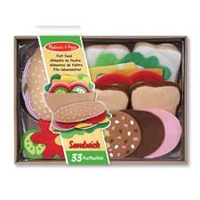 Sandwichset i tyg, Melissa & Doug