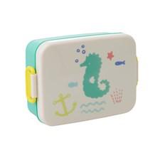 Rice Ocean Life Lunchbox med Skiljevägg Grön