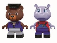 Flodhäst & björn figurer, AquaPlay