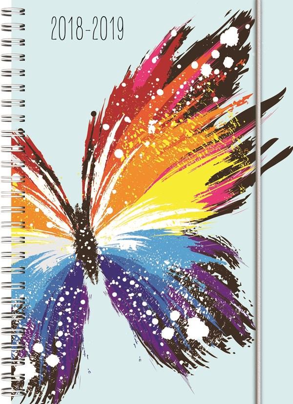 Ukeplan Butterfly A5